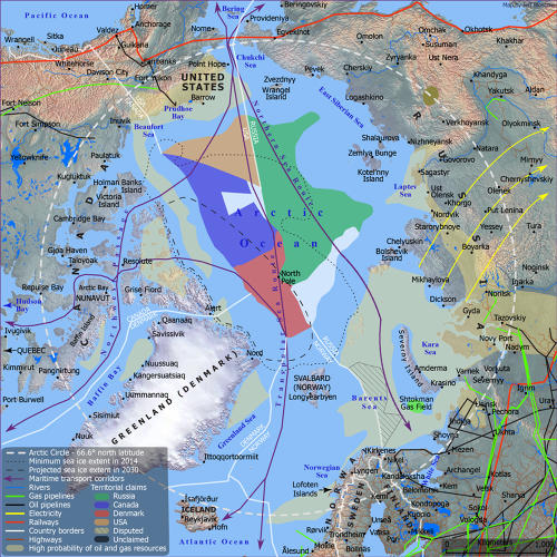 <p>Who owns the Arctic (and, more importantly, the resources underneath)?</p>