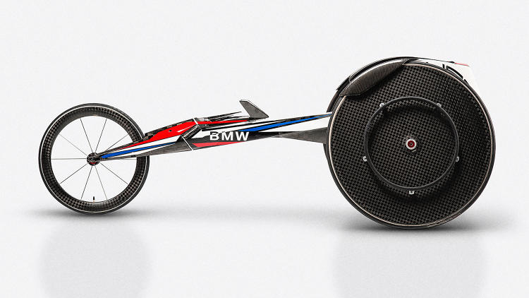 Bmw Redesigns The Wheelchair For High Speed Paralympians