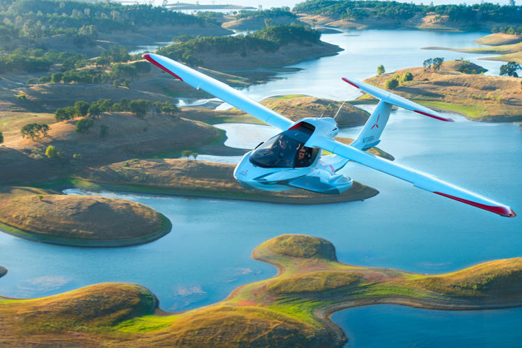 <p>The new Icon A5 is what's known as an SLSA, or sea light-sport aircraft.</p>