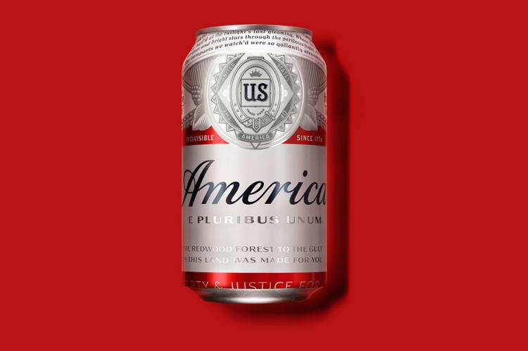 "Budweiser Renames Its Beer ""America"" | Co.Design ..."