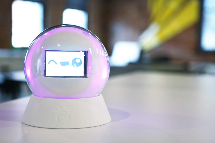 <p>The robot can be customized for a particular child's needs; if they don't like certain sounds or bright lights, those can be turned off.</p>