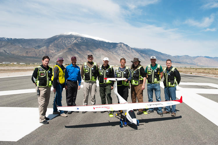 <p>Cloud-seeding is a big business, and it's much cheaper to launch small unmanned drones than to send up full-sized airplanes with human pilots.</p>