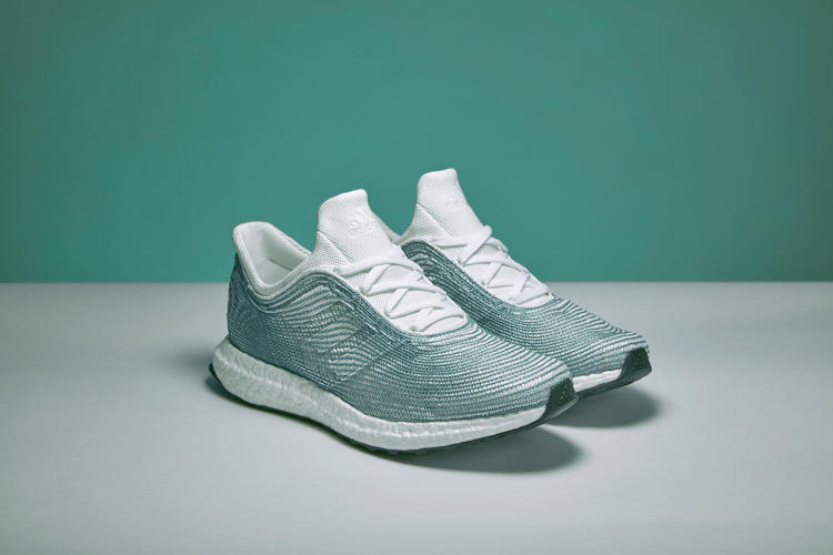 <p>To make the shoes, Adidas uses gill nets--not an easy task, since the nets started off smelling like fish and weren't designed for recycling.</p>