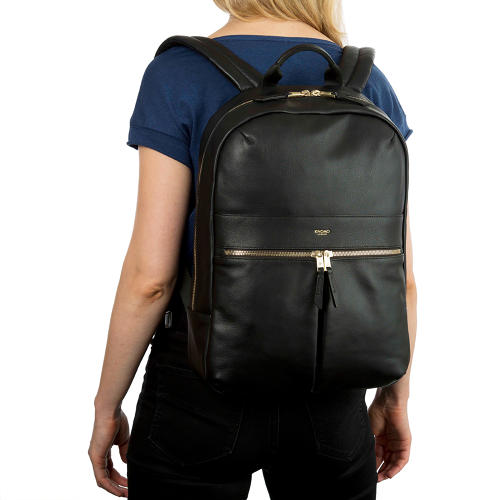 <p>The Beaux ($350) leather bag elevates the humble backpack, making it more stylish and functional.</p>