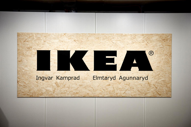 <p>The museum's main exhibit looks at Ikea's roots</p>