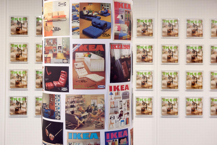 <p>The Ikea catalog throughout the years</p>