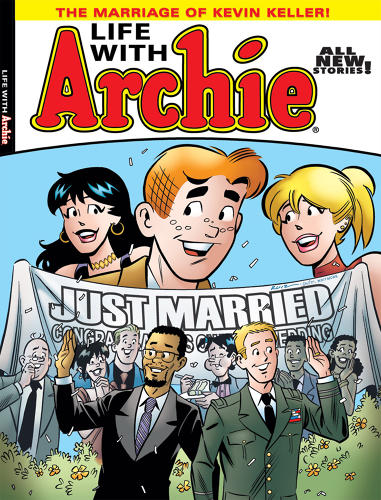 <p>IN 2010, Archie Comics debuted openly-gay character Kevin Keller.</p>