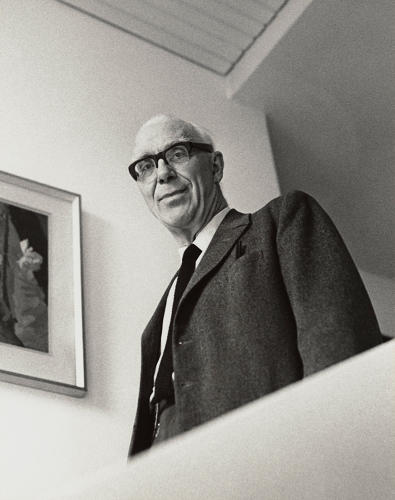 <p>Sir Ove Arup by Godfrey Argent. 25 April 1969.</p>