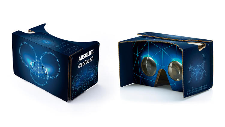 <p>A look at the exclusive Absolut/Deadmau5 cardboard VR headset.</p>