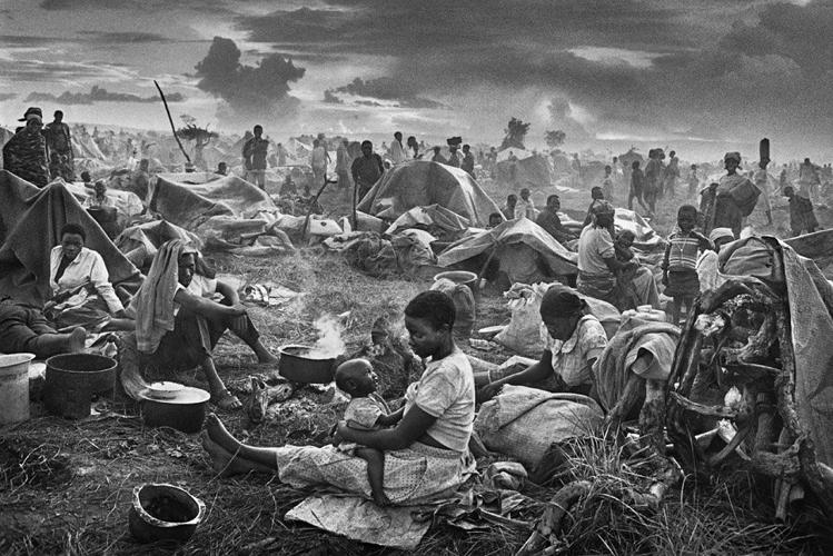 <p>Photographer Sebastiao Salgado spent six years traveling through 40 countries, following refugees and migrants as they fled violence and poverty.</p>