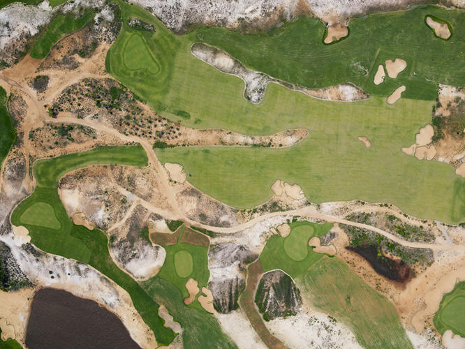 <p>The Olympic golf course was being constructed just as Brazil was enduring a historic drought.</p>