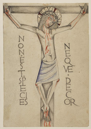 <p>Jones, Crucifixion (1922)</p>