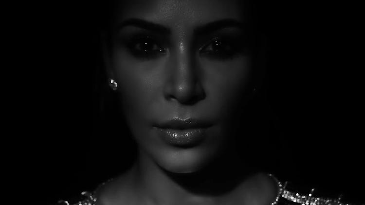 <p>Kim Kardashian West in the video for &quot;Wolves&quot;</p>