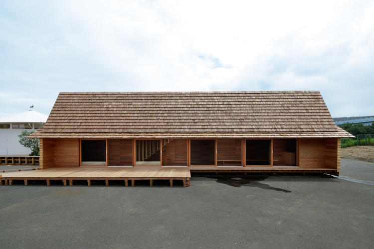 <p>The Yoshino-sugi Cedar House by Airbnb and Go Hasegawa has a community center on the first floor and private lodging for travelers on the second.</p>