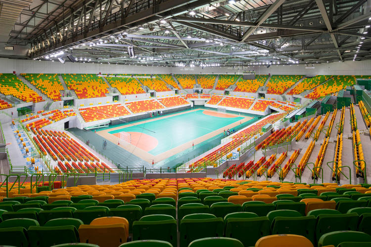 <p>The handball venue, called Future Arena, will be taken apart after the Olympics and rebuilt into four elementary schools, each for 500 students.</p>