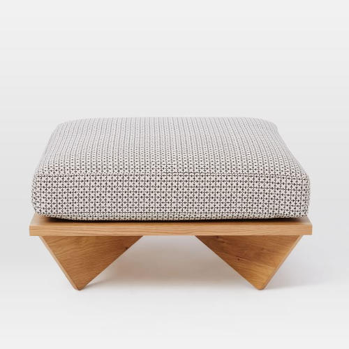 <p>The <a href=&quot;http://www.westelm.com/products/commune-low-cushion-coffee-table-h2258/?pkey=ccommune&amp;&amp;ccommune&quot; target=&quot;_blank&quot;>Commune and West Elm Low-Cushion Ottoman</a></p>