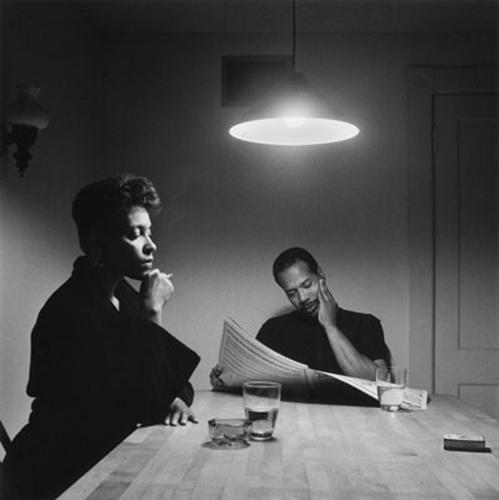 <p>Carrie Mae Weems, <em>Kitchen Table 4</em>.</p>