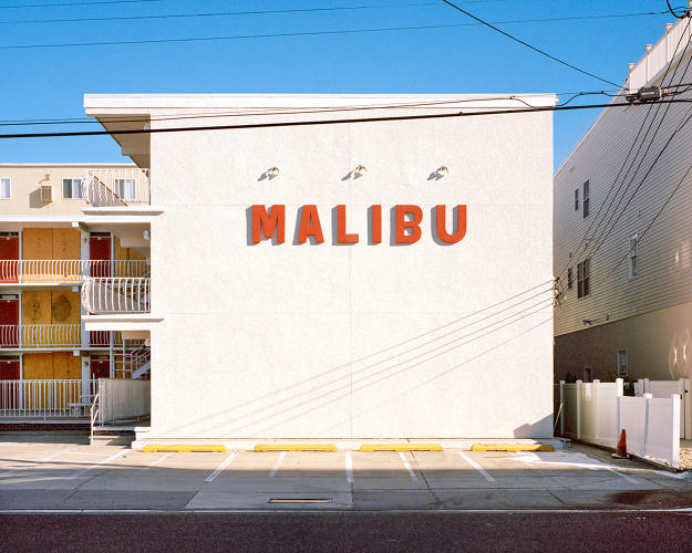 <p>The Malibu Motel isn't actually in Malibu, but it name drops sunny California to transport its residents to another place.</p>