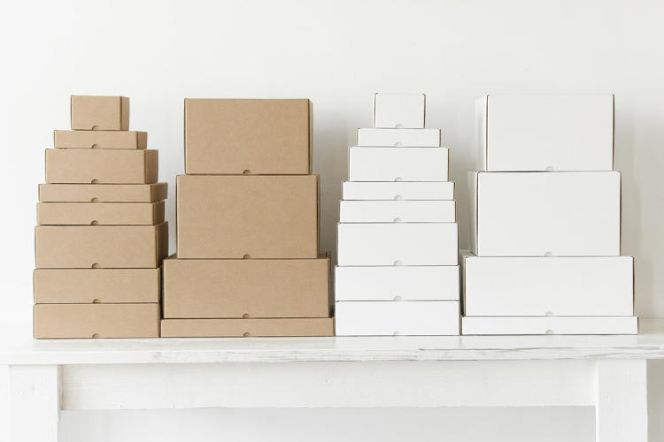 <p>Lumi designed their own line of boxes.</p>