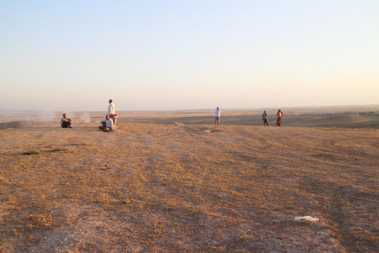 <p>Camp Essyan is in the outskirts of Dohuk, Iraq, where many Yazidis fled.</p>