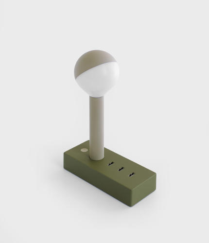 <p>Future Facility's Busby USB Lamp</p>