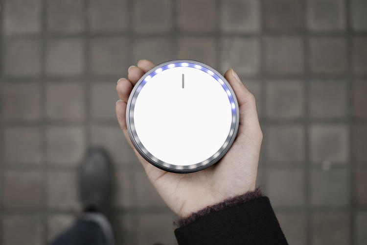 <p>Map's AKQA Seeker is a compass-like object that points to a destination programmed into the device.</p>