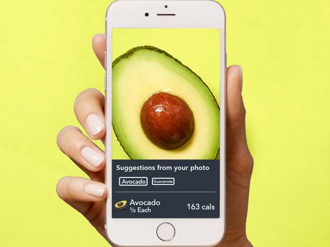 <p>The feature works best on simpler items such as avocados.</p>