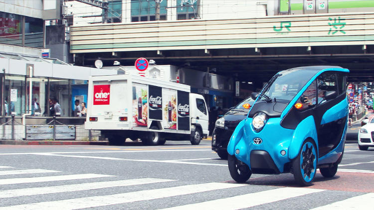 <p>Dentsu Inc. + Toyota's Open Road Project</p>