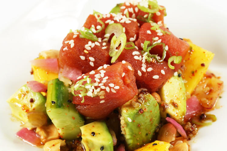<p>Each will incorporate fresh items as well as traditional Asian ingredients like togorashi spice, yuzu citrus, wafu vinaigrette, and hijiki seaweed.</p>