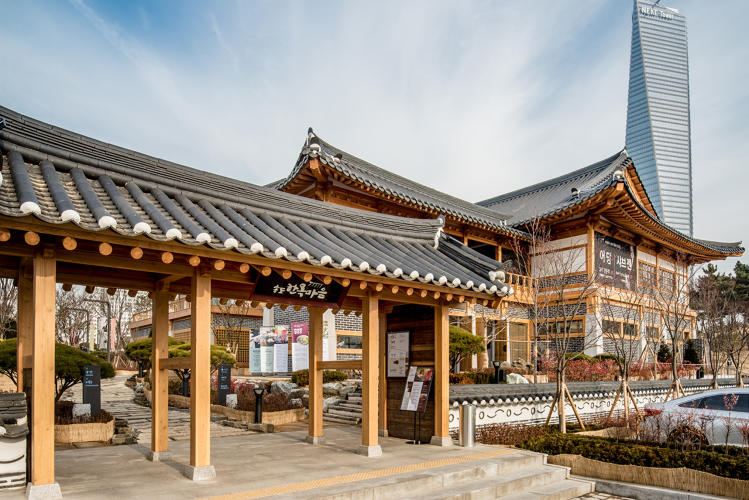 <p>It was designed to be more sustainable than a typical city like nearby Seoul.</p>