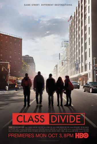 <p>The poster for HBO's <em>Class Divide</em></p>