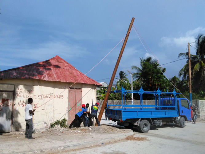 <p>The company is currently building a system for nine communities around Môle-Saint-Nicolas.</p>