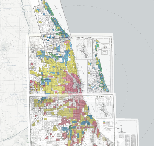 <p>In some cities, &quot;redlined&quot; areas are still lower-income and more segregated today.</p>