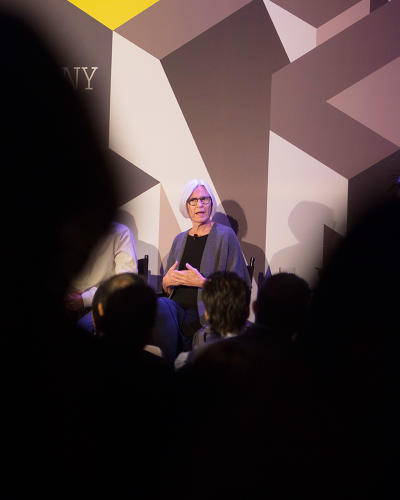 "<p><strong>Eileen Fisher</strong> says self-improvement's real goal is ""to help people uncover their truest selves.&quot;</p>"