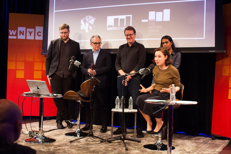 <p>WNYC staff discuss the public radio outlet's efforts evolve and engage audiences as podcasting finally comes of age.</p>