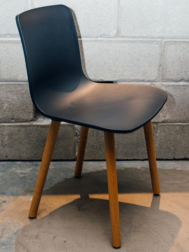 <p>The Hal chair by Jasper Morrison at Tough Mudder</p>