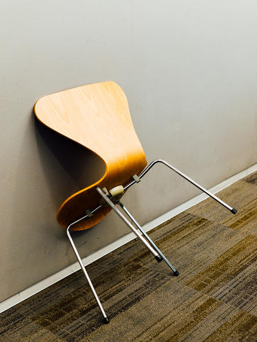 <p>The Ant Chair by Arne Jacobsen at the New York office of global architecture firm Perkins+Will</p>