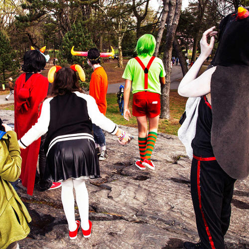 <p><em>Homestuck</em> Tumblr Meetup; New York, NY, 2016</p>