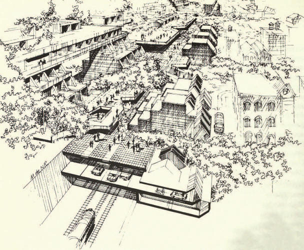 <p>Brooklyn Linear City by McMillan, Griffis &amp; Milet c. 1967</p>