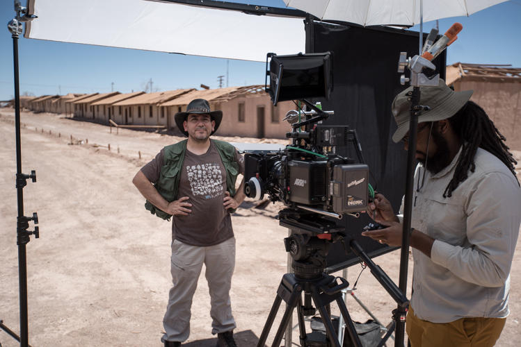 <p>Armando Azua-Busto studies microbial life in the harsh climate of Chile's Atacama Desert--and what that can teach us about life on Mars.</p>