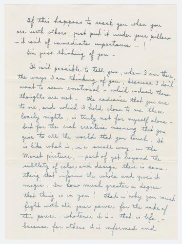 Hand Written Love Letter For