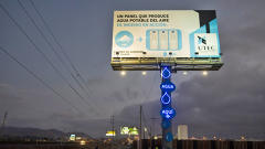 This Billboard Generates Clean Drinking Water Straight From The Air