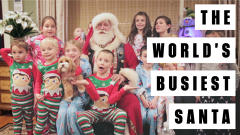 A Day In The Life Of The World's Busiest Santa Claus