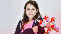 This Girl Designed Her Own Superhero Prosthetic Arm, And It Shoots Sparkles