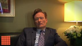 Conan O'Brien: What's your advice for creating a logo?