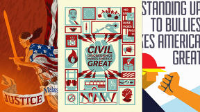 For The Next 100 Days, These Artists Will Release Art About What Makes America Great