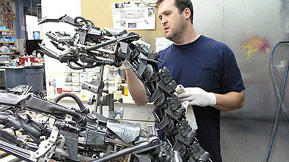 Terminator Salvation: Making of the Hydrobot [photo gallery]