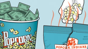 Popcorn, Indiana's Kernels Of The Future Are Hot, Prepopped, And Good For You