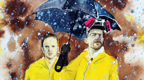 When Entertainment Marketing Is Art: See Work From The Breaking Bad Art Project