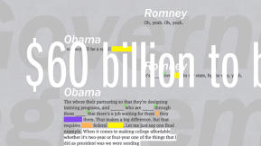 ReConstitution 2012 Reveals Hidden Meaning In Obama's And Romney's Words